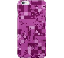Pink Cube Camo iPhone Case/Skin