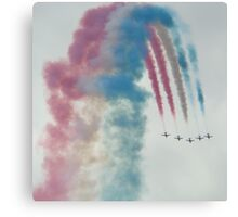 Red Arrows 5 Canvas Print