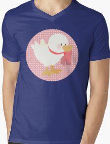 duck (female) Mens V-Neck T-Shirt