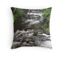 Lodore Falls Keswick Throw Pillow