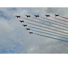 Red Arrows 8 Photographic Print