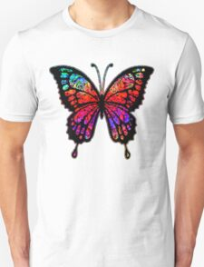 Psychedelic Butterfly Unisex T-Shirt