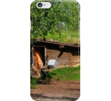 Pioneer Sod House iPhone Case/Skin