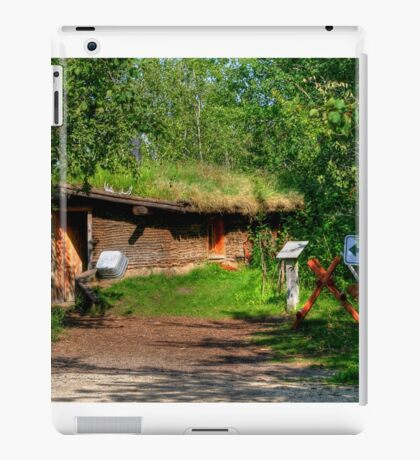 Pioneer Sod House iPad Case/Skin