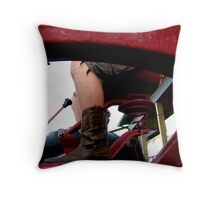 Farming Time Throw Pillow