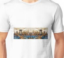 Abstract Bridge Oil Painting Unisex T-Shirt