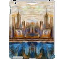 Abstract Bridge Oil Painting iPad Case/Skin