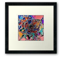 ( CHEEY )  ERIC WHITEMAN ART   Framed Print