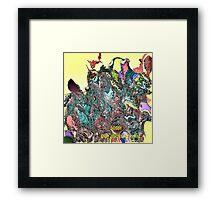 ( BOSSY )  ERIC WHITEMAN  ART   Framed Print