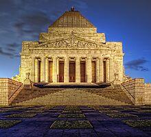 Shrine of Remembrance • Victoria • Australia by William Bullimore