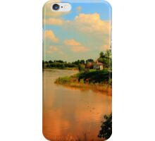 Assiniboine River...HDR iPhone Case/Skin