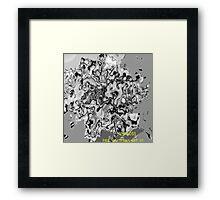 ( BIG BOSS )   ERIC  WHITEMAN ART Framed Print