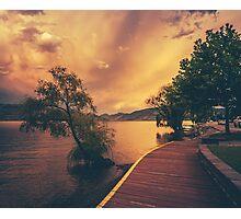 Okanagan Lake Photographic Print