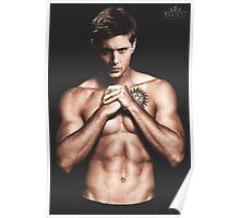 Jensen Ackles Anti-Possession Tattoo Poster