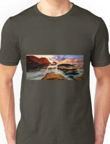 Tide Pool Oil Painting Unisex T-Shirt