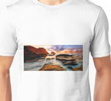 Tide Pool Oil Painting Unisex T-Shirt