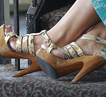 Those Shoes! by Debbie Moore