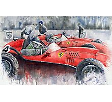 Ferrari Dino 246 F1 1958 Mike Hawthorn French GP Photographic Print