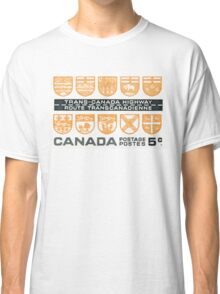 1962 Trans-Canada Highway postage stamp Classic T-Shirt