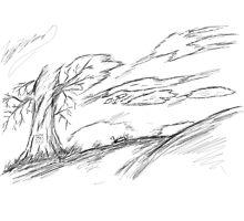 a loving tree by megaminecraft9
