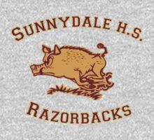 Sunnydale H.S. Razorbacks Baby Tee