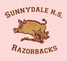 Sunnydale H.S. Razorbacks Kids Tee