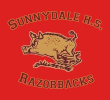 Sunnydale H.S. Razorbacks Kids Clothes