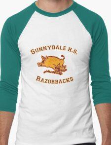 Sunnydale H.S. Razorbacks Men's Baseball ¾ T-Shirt