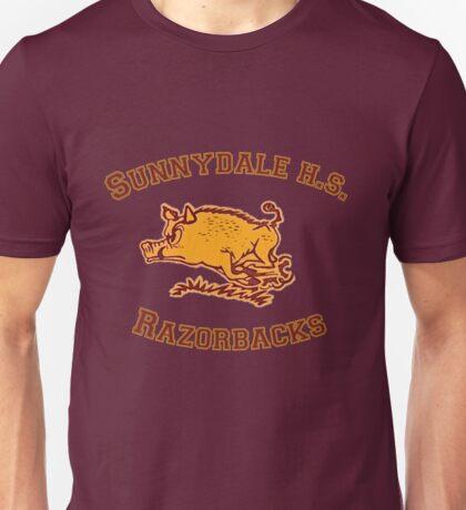 Sunnydale H.S. Razorbacks Unisex T-Shirt