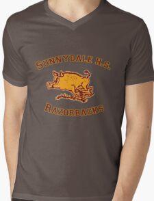 Sunnydale H.S. Razorbacks Mens V-Neck T-Shirt