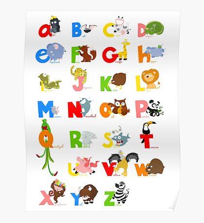 ABC (english) Poster