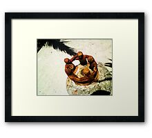 Feel the brotherhood Framed Print