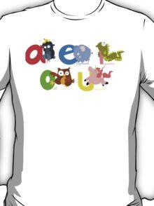 vowels T-Shirt
