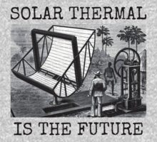 SOLAR THERMAL IS THE FUTURE One Piece - Short Sleeve