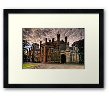 Colonial Grandeur # 2 - NSW Government House, Sydney - The HDR Experience Framed Print