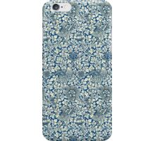 Indigo Blue and White William Morris Pattern iPhone Case/Skin