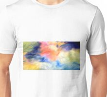 Splashes of Paint Oil Painting 3 Unisex T-Shirt