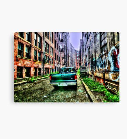 Public Alley  Canvas Print