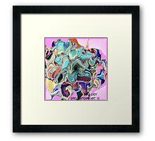 ( BOSS LADY )  ERIC WHITEMAN   ART  Framed Print