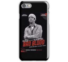 Ross Geller 'Divorce Force' Bad Blood poster iPhone case iPhone Case/Skin