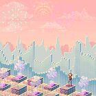 Pixel Metropolis by Alien Sapiens  Sapiens