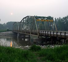 Bridge Over the Assiniboine River  by Sean Carney