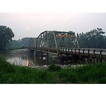 Bridge Over the Assiniboine River  Photographic Print