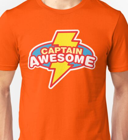 Captain Awesome Unisex T-Shirt