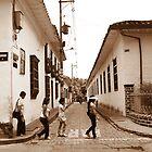 Walking through History by Esperanza Gallego