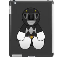 Black Power Ranger Pal iPad Case/Skin