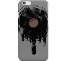 Cool Melting Vinyl Records Vintage Music T-Shirt iPhone Case/Skin
