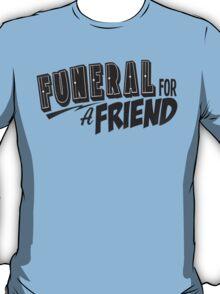 Funeral for a Friend Retro Logo T-Shirt