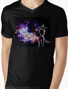 Eldritch Angel Mens V-Neck T-Shirt