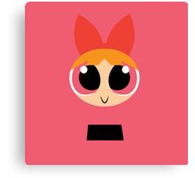 Blossom - PowerPuff Girls Canvas Print